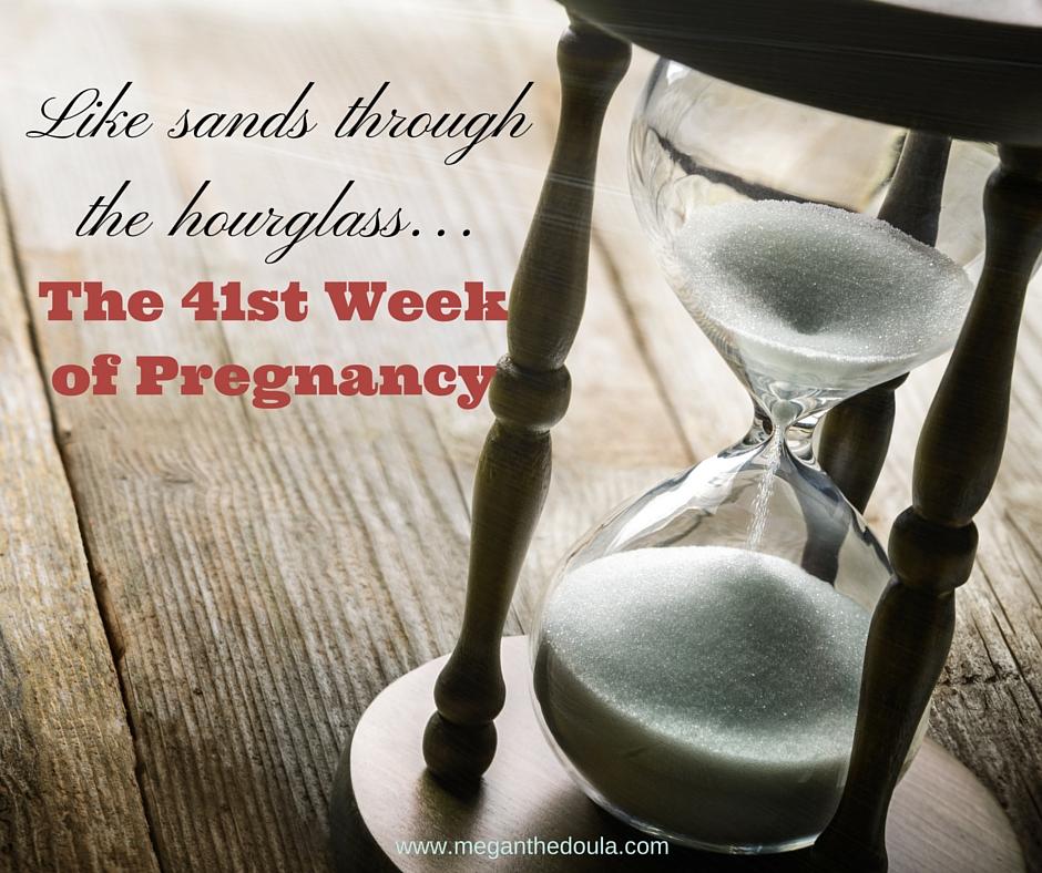 being 41 weeks pregnant is hard.