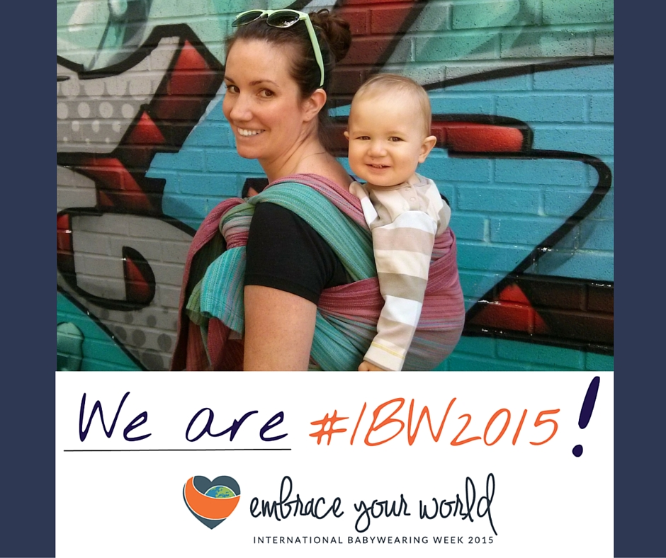 9d1c317a494 GIVEAWAY- International Babywearing Week - Megan the Doula
